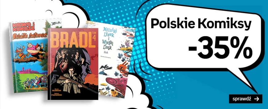 Empik – polskie komiksy -35% – do 25.08.2020 r.