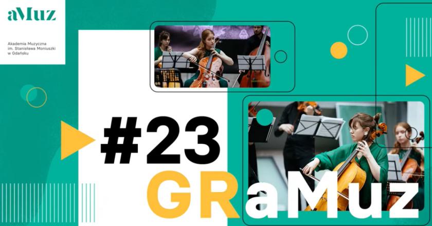 GRaMuz #23   Adrianna Ciemińska, Anna Fender