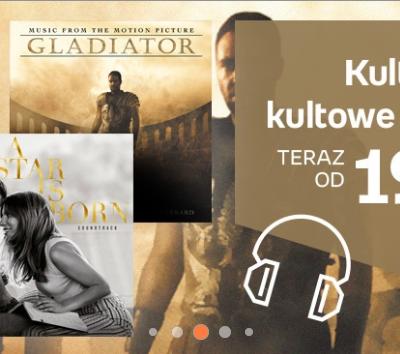 Empik: Kultowe filmy – kultowe soundtracki od 14,99 zł – do 4.05.2021 r.
